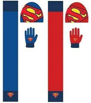 Set Bufanda, Gorro y Guantes Superman