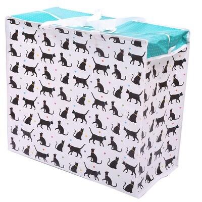 Bolsa Almacenamiento Siluetas de Gatos