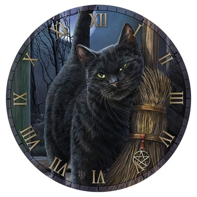 Reloj Gato con Cepillo Mágico