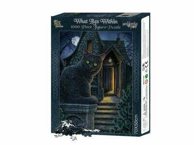 Puzzle Gato Negro