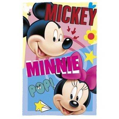 Manta Polar Disney Mickey & Minnie