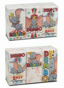 Pañuelos de Papel Disney Dumbo
