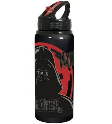 Botella Deportiva Aluminio Star Wars Darth Vader