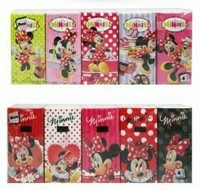 Pañuelos de Papel Minnie Disney