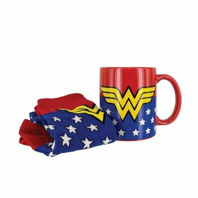 Set Regalo Taza y Calcetines DC Comics Wonder Woman