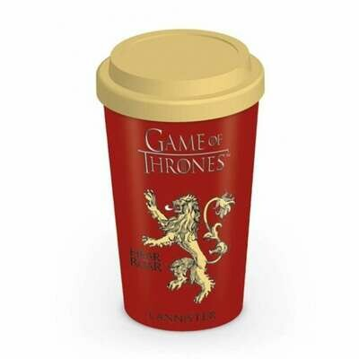 Taza de Viaje Game Of Thrones House Lannister