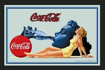Espejo Coca-Cola Chica Bañador
