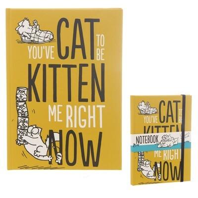 Cuaderno A5 Simon's Cat
