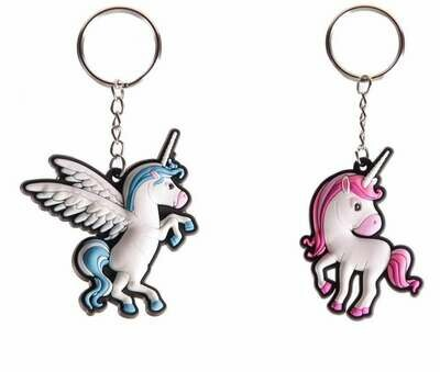 Llaveros Pareja de Unicornios
