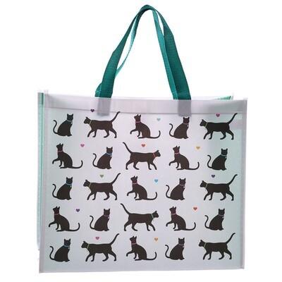 Bolsa Compra Siluetas de Gatos