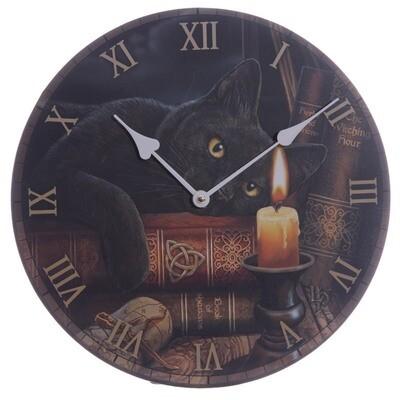 Reloj Gato y Vela