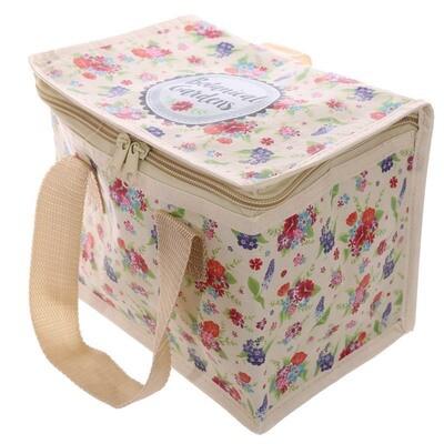 Bolsa Refrigerante Diseño Floral