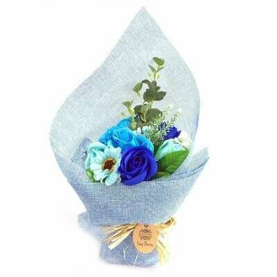 Ramo Flores de Jabón Azul