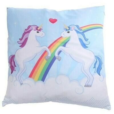 Cojín Unicornios Enamorados