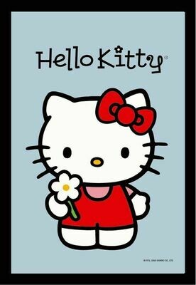 Espejo Hello Kitty flor