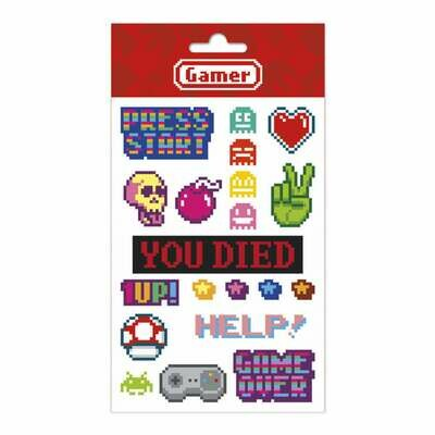 Set Stickers Gamer