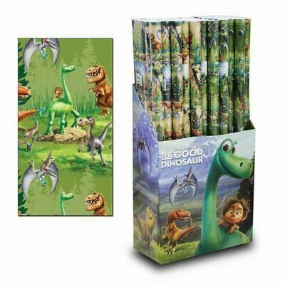 Papel de Regalo Dinosaurios