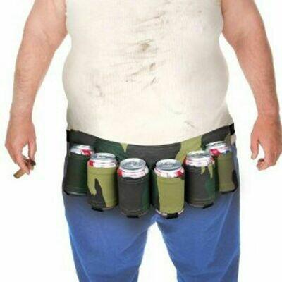 Cinturón Latas Camuflaje