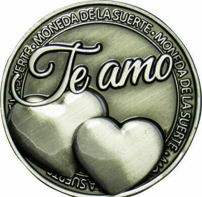 Moneda con Bolsita Te Amo