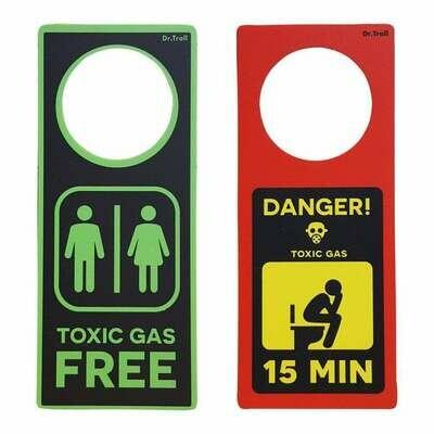Colgador Pomo Toxic Danger
