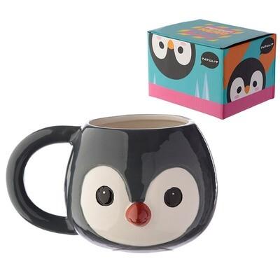 Taza 3D Pingüino