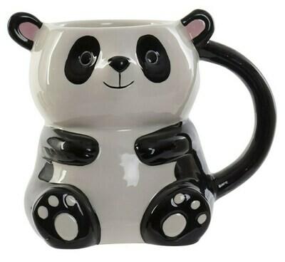 Taza 3D Oso Panda