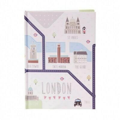 Libreta A6 Londres