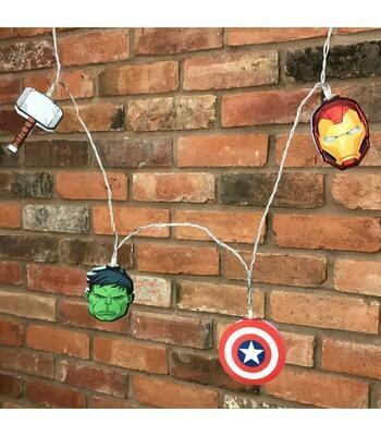 Guirnalada Luces Avengers Marvel