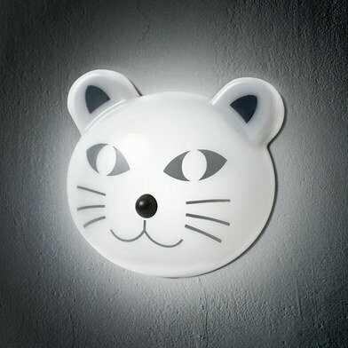 Luz Noche Gato Sensor de Movimiento