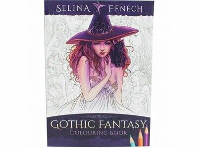 Libro para Colorear Fantasía Gótica