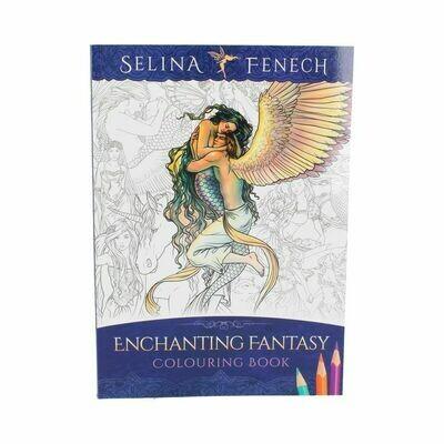 Libro para Colorear Fantasía Encantada