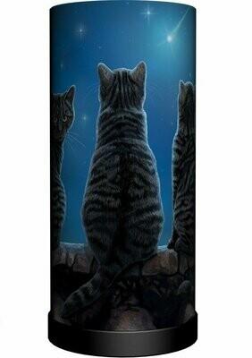 Lámpara Tres Gatos Negros