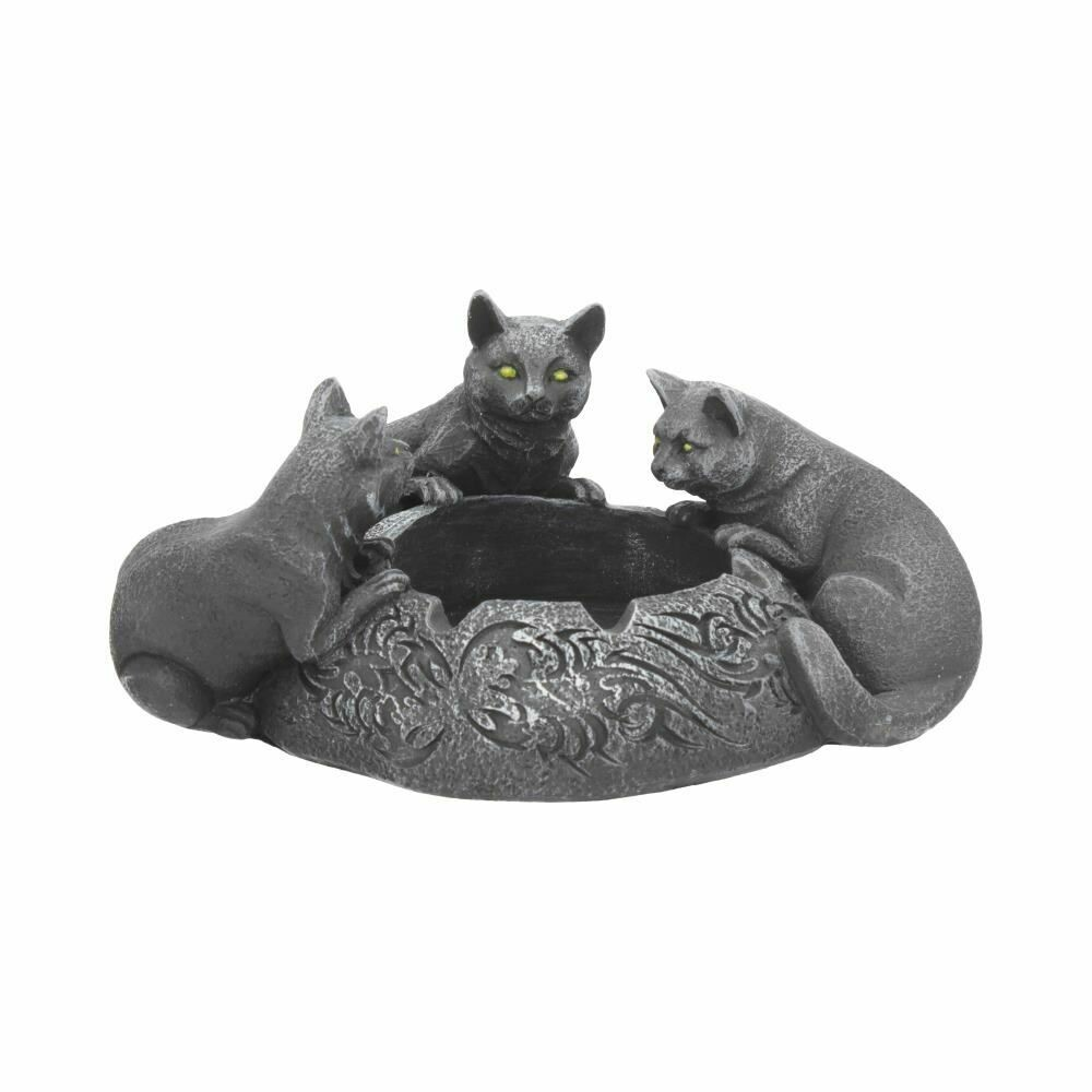 Cenicero Tres Gatos Negros