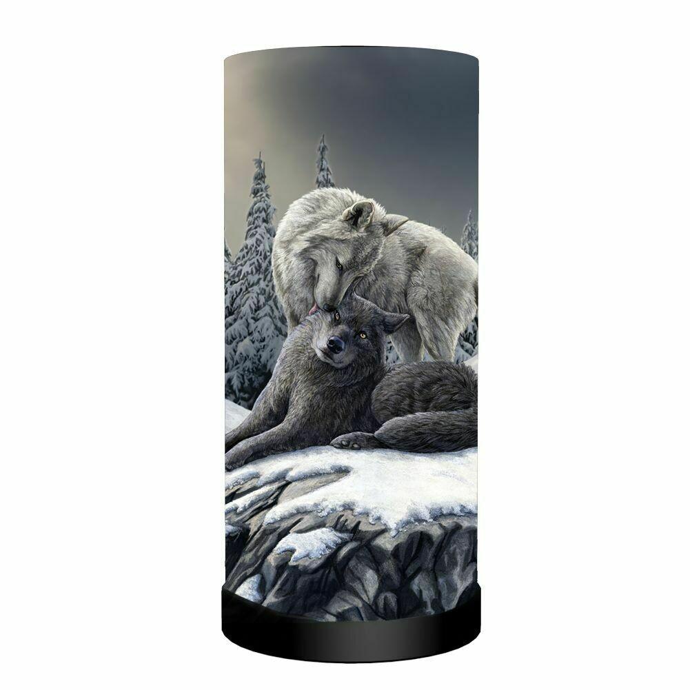 Lámpara Lobos Besos en la Nieve