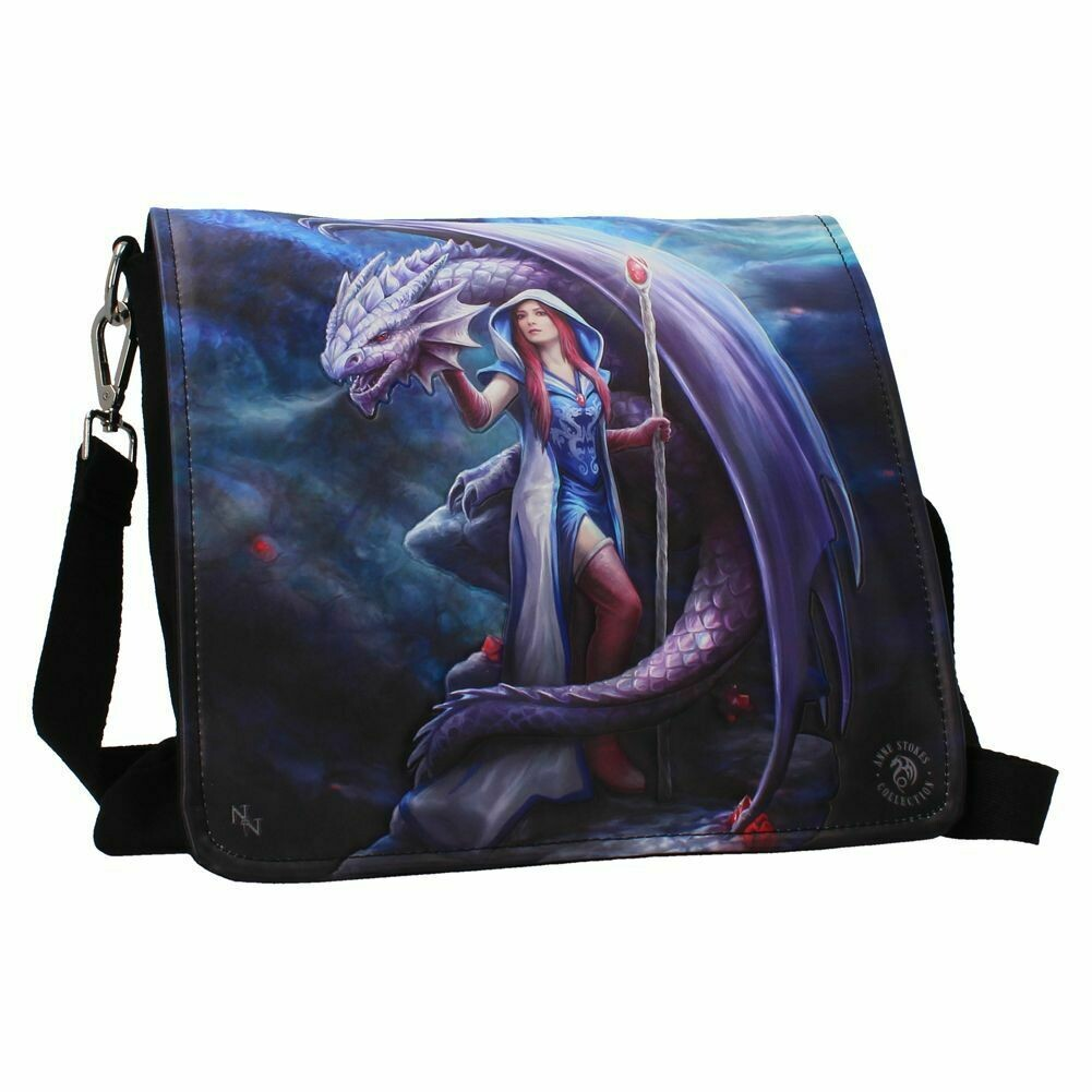 Bolso Bandolera Relieve Dragón