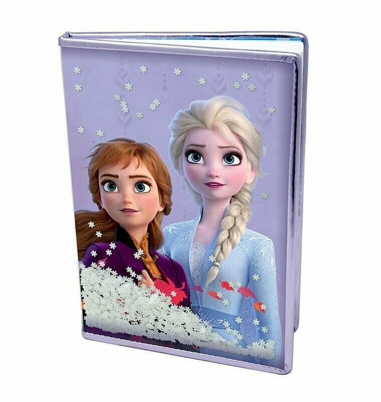 Libreta Frozen 2 Copos de Nieve