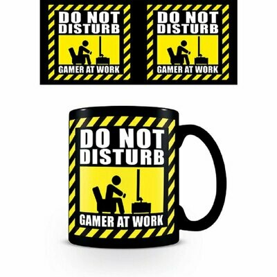 Taza Gamer at Work