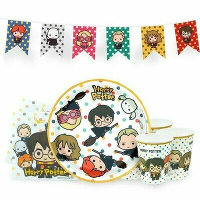 Set Cumpleaños Harry Potter Kawaii