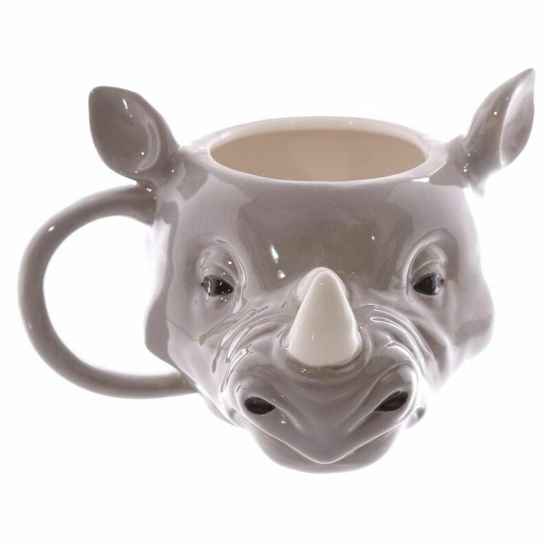 Taza 3D Rinoceronte