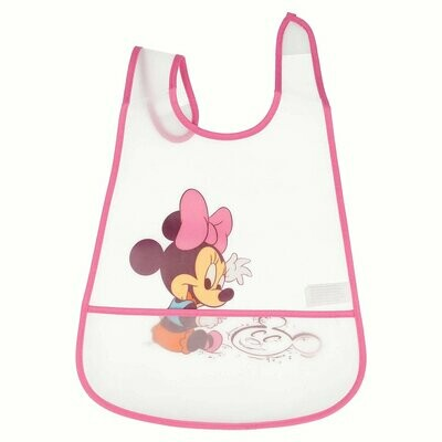 Babero Peva con Bolsillo Minnie Mouse