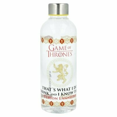 Botella Juego de Tronos