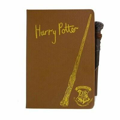 Libreta y Bolígrafo Varita Harry Potter