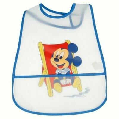 Babero Peva con Bolsillo Mickey Mouse