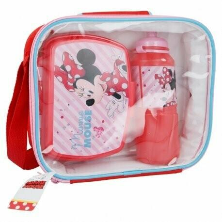 Set 3 Piezas Minnie Mouse Disney