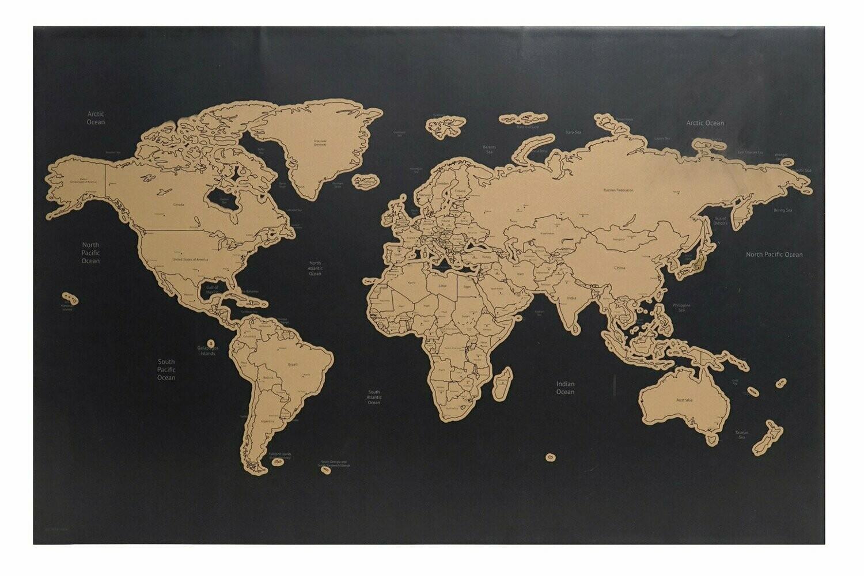 Memo Mapa Mundi, Rasca tus Viajes