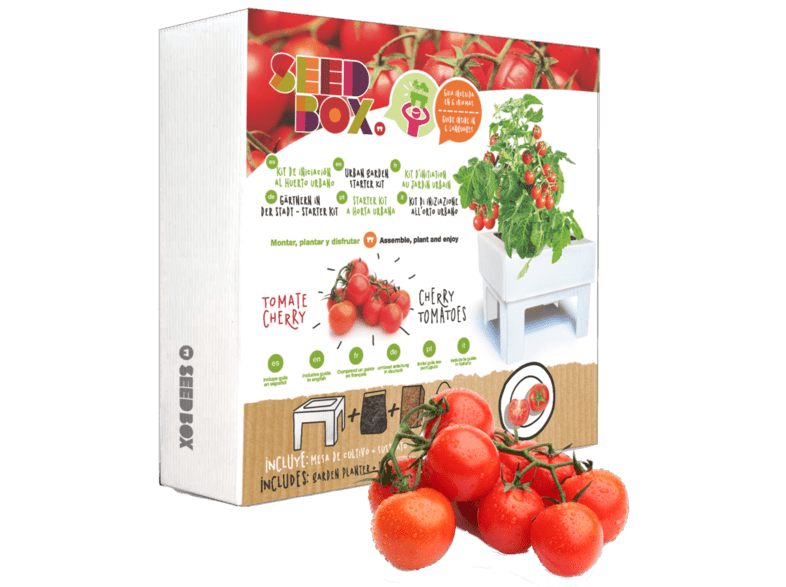Huerto Urbano Tomates Cherry