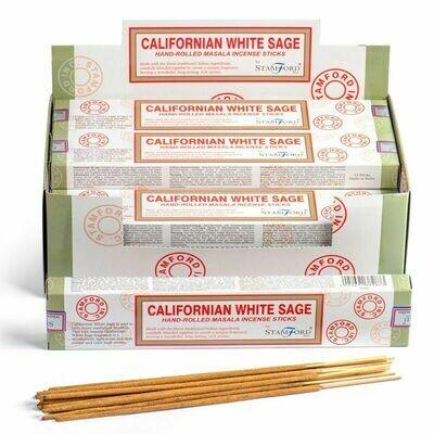 Varillas de Incienso Sauce Blanco de California