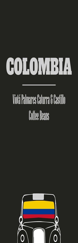 Colombia - Viotá Palmares Caturra & Castillo Coffee Beans