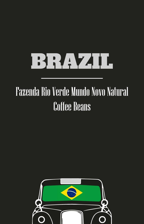 Brazil - Fazenda Rio Verde Mundo Novo Natural