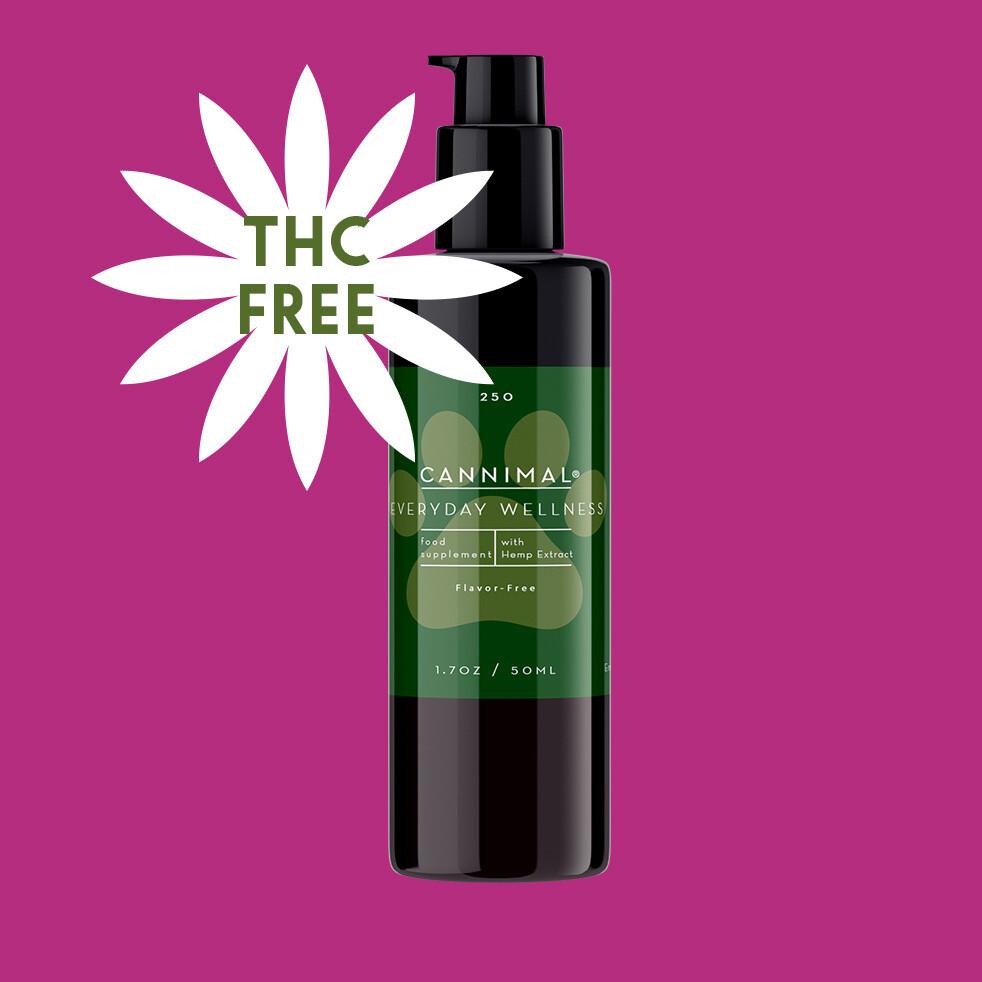 T-FREE Everyday Wellness Formula Broad Spectrum Hemp CBD Oil Extract~ Plain + No Flavor